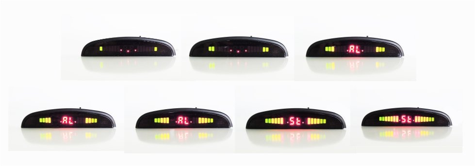 Sequence Display wireless parking sensor