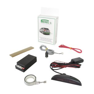 Kit invisible electromagnetic parking sensors EPS-DUAL 3.0 with display Wireless